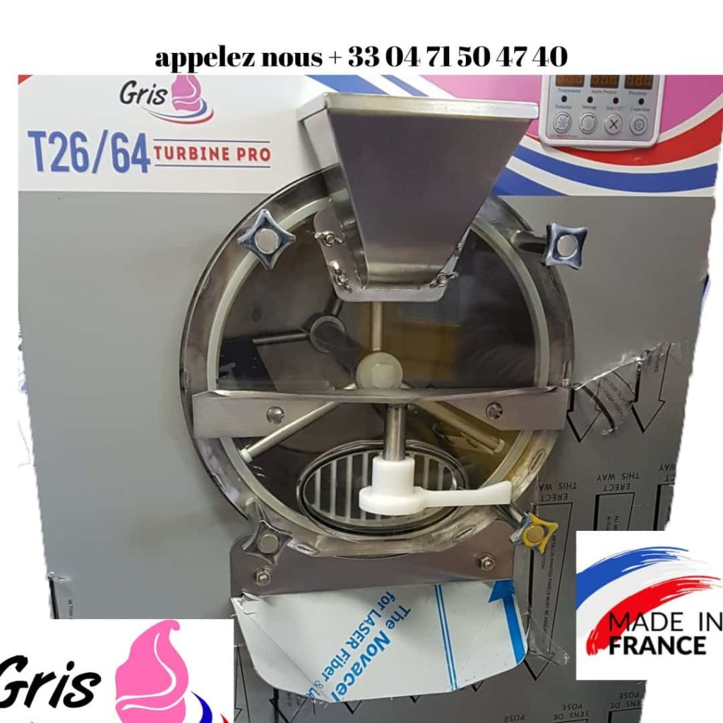 turbine a glace Gris France